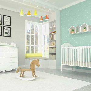 חדר תינוקות – דגם ורד